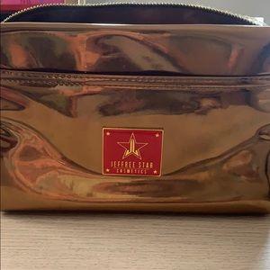 Jeffree star bronze bag